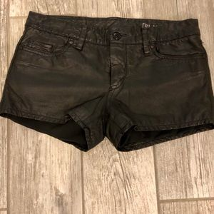 Leather shorts by Blank NYC
